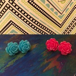 2-for-1 Flower Earrings